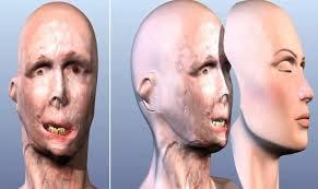 wizualizacja twarzy