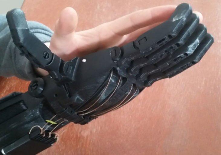 Wydrukowana proteza ręki 3D