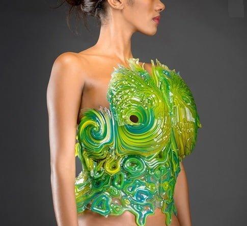wydruk 3D ubranie