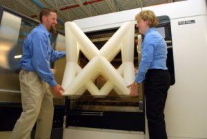 Wydruk z profesjonalnej drukarki 3D
