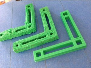 Wydruki z taniej drukarki 3D
