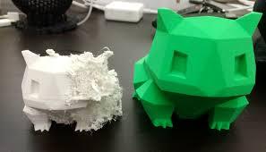 Wydruk 3D postacie animowane