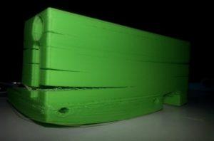 Wydruk z taniej drukarki 3D