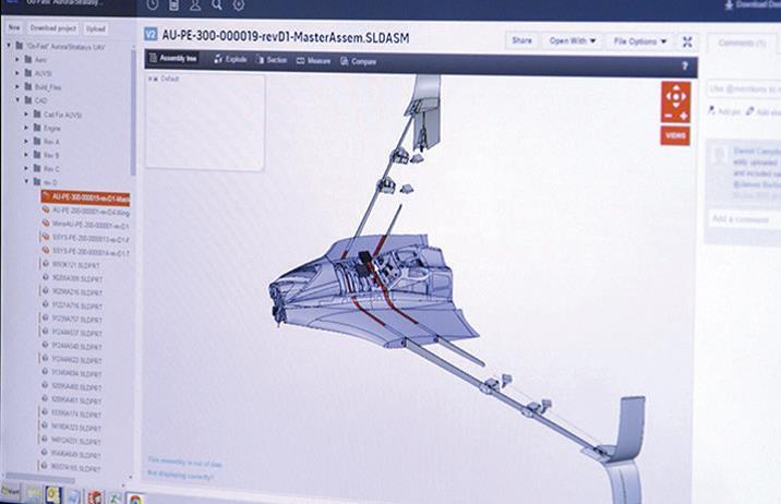 projektowanie szybowca w 3D