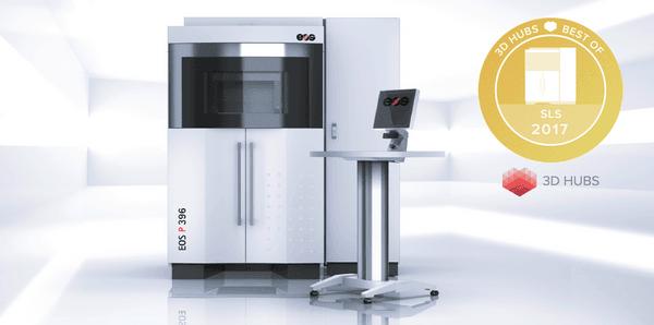nagroda hubs dla drukarki 3D EOS