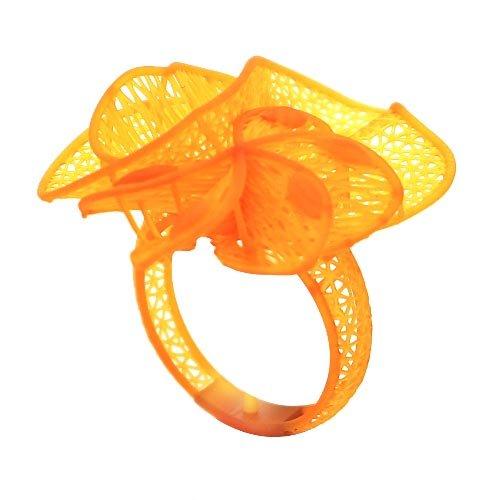 Wydruk 3D jubilerski - pierścionek