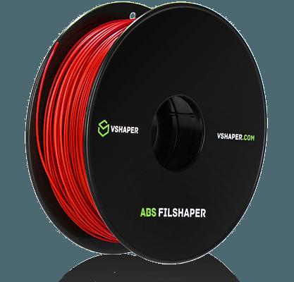 filament ABS wykorzystywany w systemach firmy VSHAPER