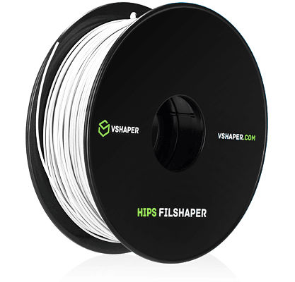 filament HIPS jako struktura podporowa w systemach VSHAPER