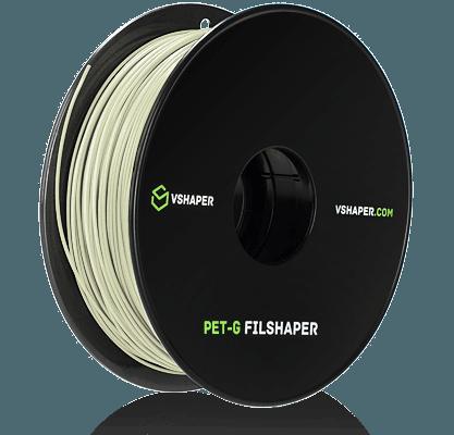filament PET-G do systemów wytwarzania przyrostowego firmy VSHAPER