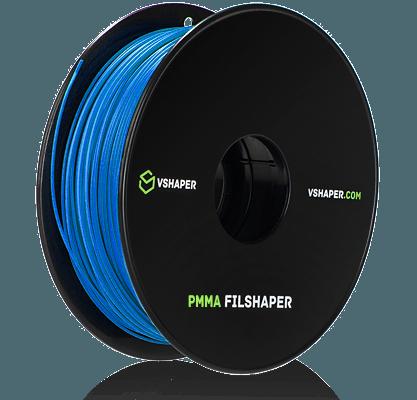 filament PMMA przetwarzany w procesie FFF w drukarkach VSHAPER