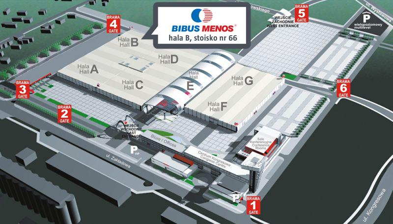 Dni Druku 3D - mapa BIBUS MENOS