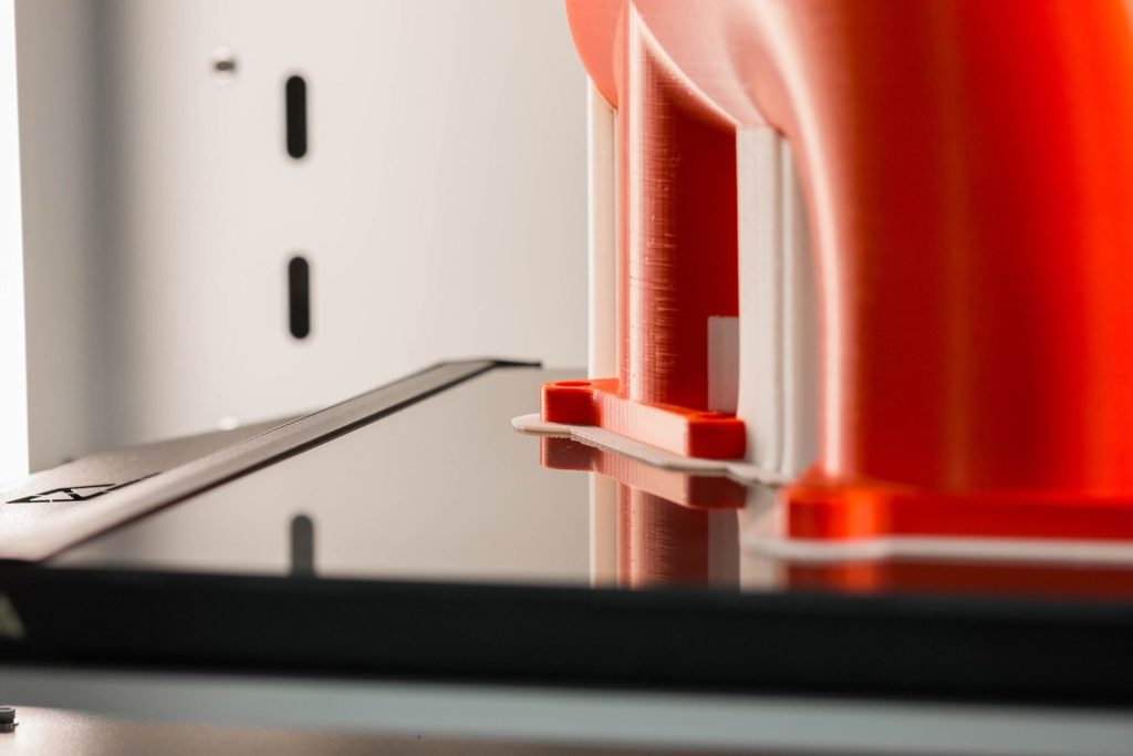 Technologia FDM - przyleganie warstw materiału
