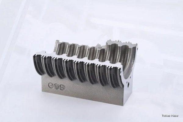 EOS DMLS metal tool steel stal narzędziowa narzedziowa 1.2709